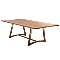 Dining Table in Hardwood, Brazilian Contemporary Design