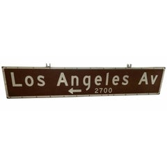 8 Foot Double-Sided Los Angeles Freeway Sign