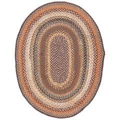 Vintage American Braid Rug