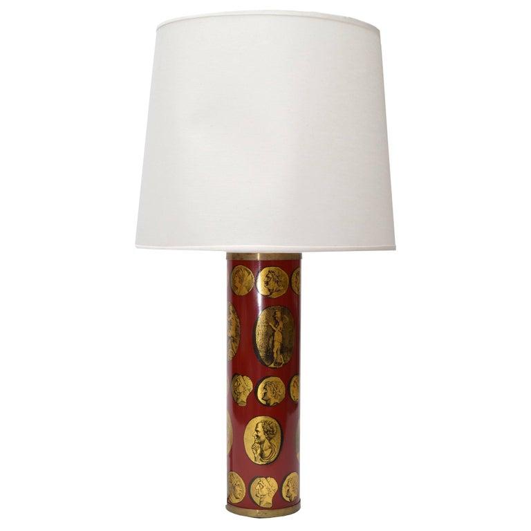 Piero Fornasetti Cameo Table Lamp