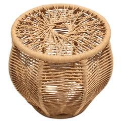 Carambola Handmade Stool, Brazilian Contemporary Design