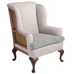 Howard & Sons Wingback Chair, England, circa 1930