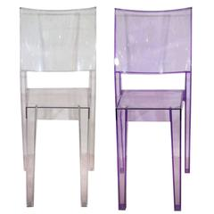 "Pair of Philippe Starck ""La Marie"" Chairs"