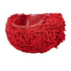 Meltdown Chair Pp Rope Red by Tom Price, 2017