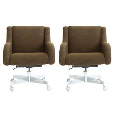 Pair of Roger Lee Sprunger Office Chairs