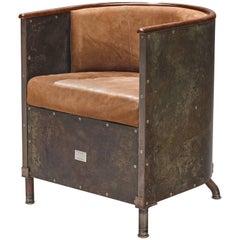 Mats Theselius for Källemo 'Järn/Mocca' Easy Chair Edition 4/18