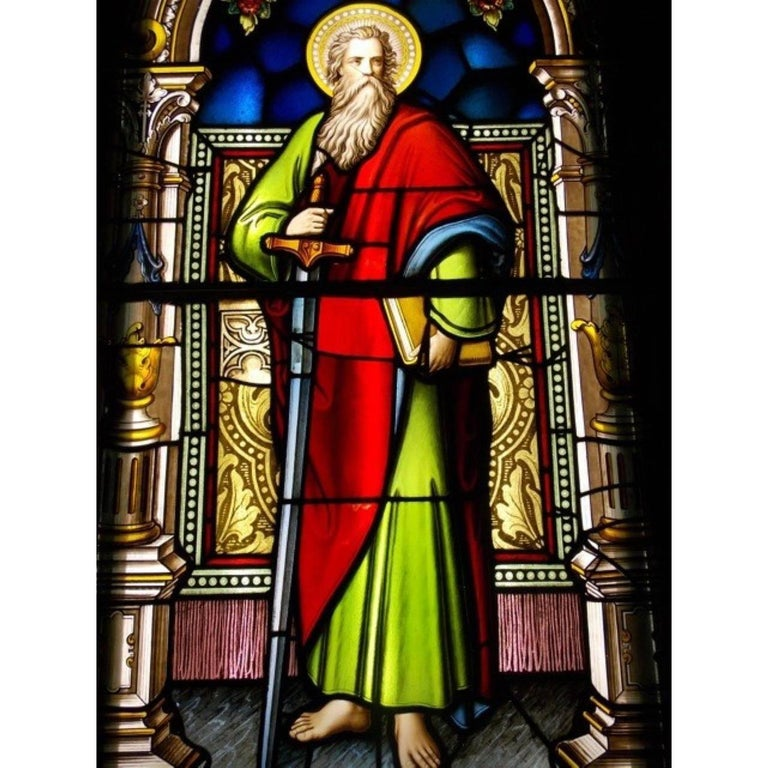 16th Century German Stained Glass Church Window