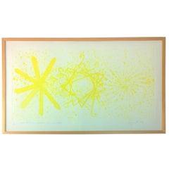 Midcentury Signed James Rosenquist Color Etching Photo Etching Aquatint, 1978