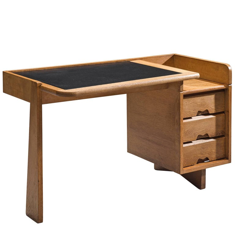 Guillerme et Chambron Desk in Oak