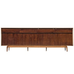 De Coene Sideboard in Rosewood and Walnut