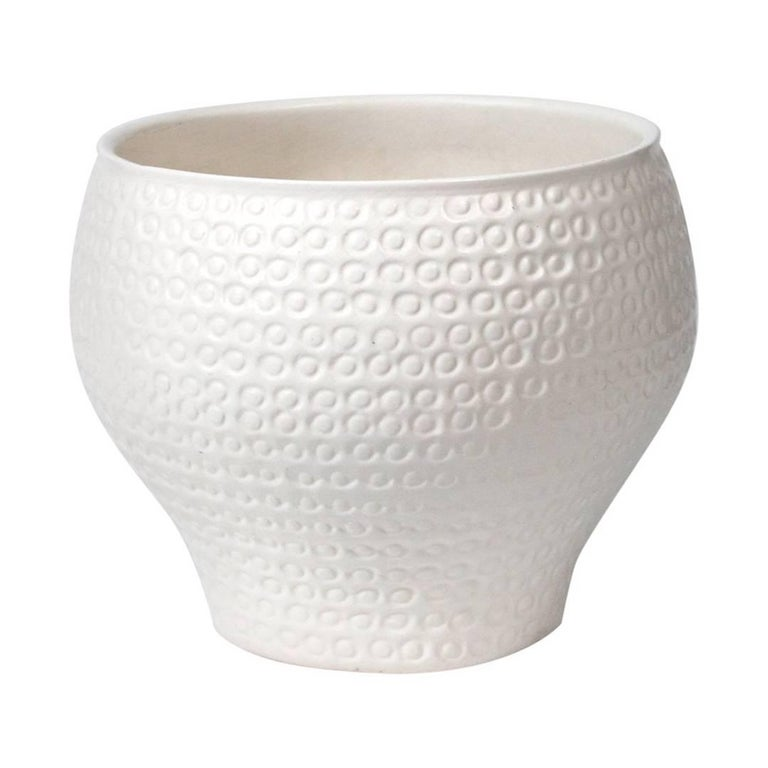 "Ceramic ""Cheerio"" Planter by David Cressey"