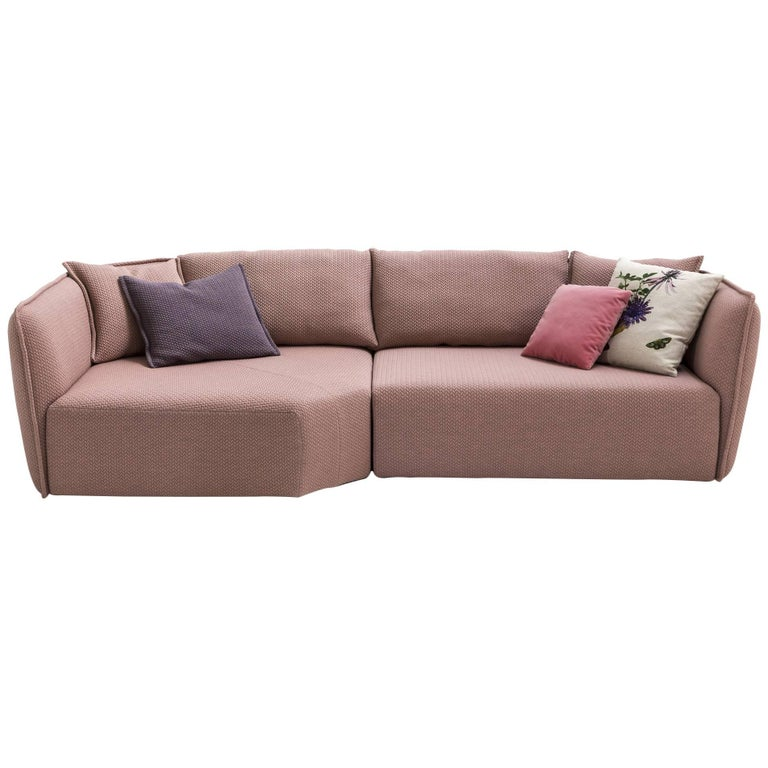 Chamfer 2 Round Sofa by Patricia Urquiola for Moroso in Three Configurations For Sale