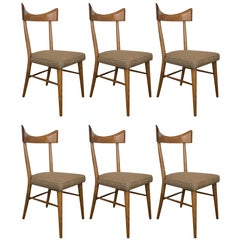 Set of Six Paul McCobb for Planner Group Dining Chairs