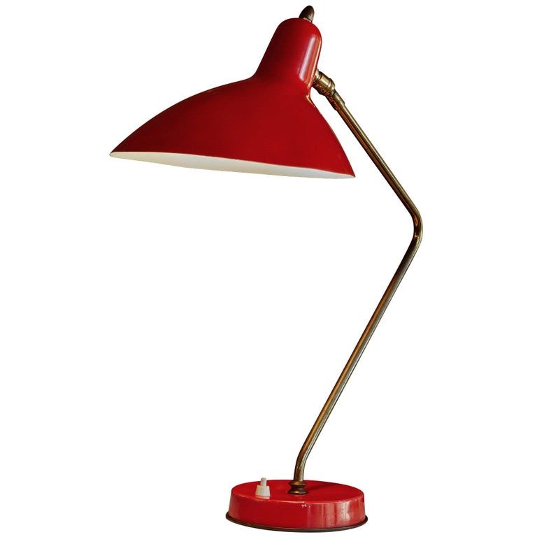 1950s Boris Lacroix Table Lamp For Sale