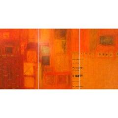 Harmonic. Triptych by Patricia McParlin