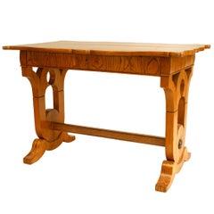 Austrian Biedermeier Inlaid Desk