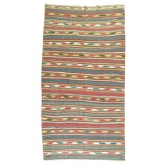 Persian Kilim Antique Flat-Weave