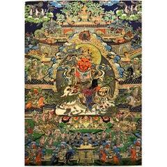 Tibetan Thangka Painting, Dorje Drolo Thanka