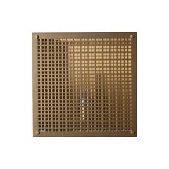 Contemporary 000 Sconce in Brass by Orphan Work, 2018