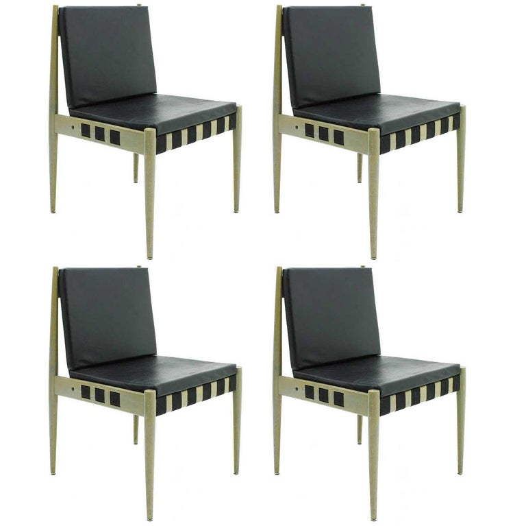 60x Egon Eiermann Dining Room Chairs SE 121 Wilde & Spieth, Germany, 1964