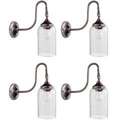 Petite Bell Glass Sconce, Italy, 21st century