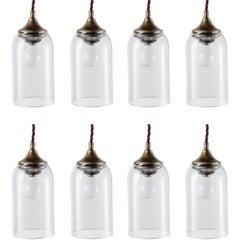 Petite Bell Glass Pendant, Italy, 21st century
