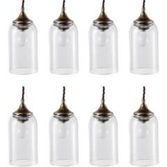 Petite Bell Glass Pendant, 21st century
