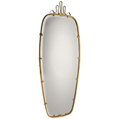 antique wall mirrors rococo gio ponti brass mirror 1930s antique and vintage wall mirrors 12290 for sale at 1stdibs