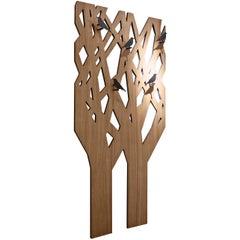 Pacini & Cappellini L'albero Bird Hooks in Black Painted Metal