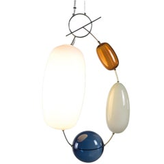 Finnish Mounth Blown 'Hely' Glass Lamp, Limited Edition