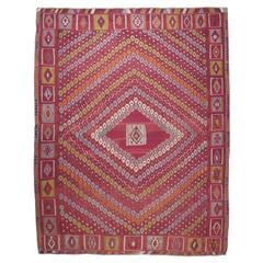 """Honeycomb"" Sharkisla Kilim Rug"