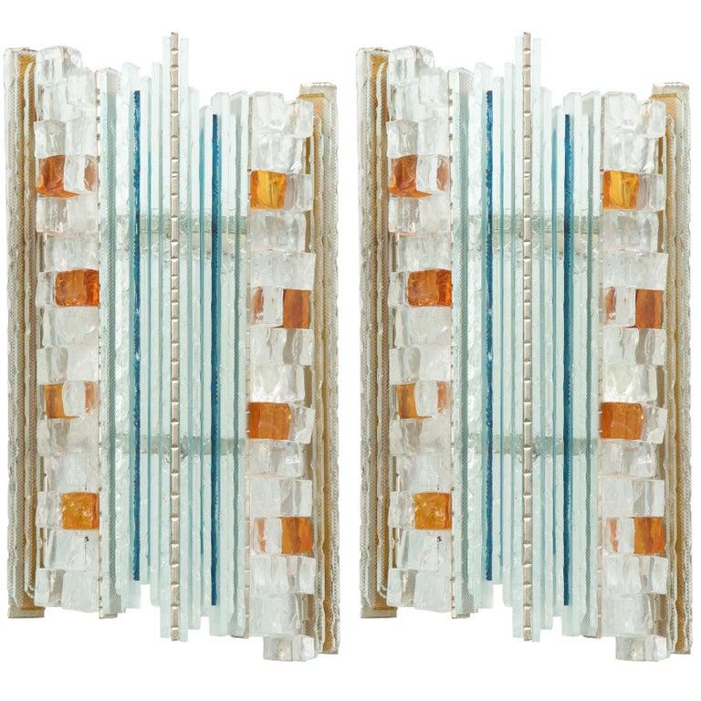 Poliarte Murano Glass Sconces