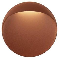 Large 'Flindt' Indoor or Outdoor Wall Light in Cortens Red for Louis Poulsen