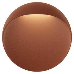 'Flindt' Indoor/Outdoor Wall Light in Cortens Red for Louis Poulsen