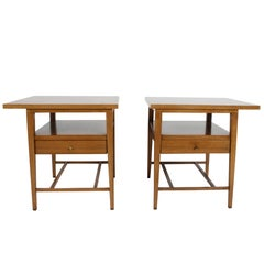 Pair of Paul McCobb for Calvin End Tables or Nightstands
