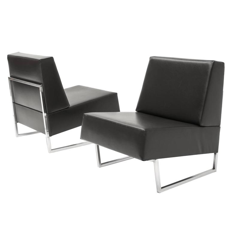 pair of courchevel chairs by pierre guariche at 1stdibs. Black Bedroom Furniture Sets. Home Design Ideas