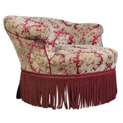Napoleon III Slipper Chair
