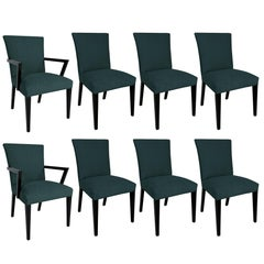 "Set of Eight ""Modern Originals"" Dining Chairs by Widdicomb"
