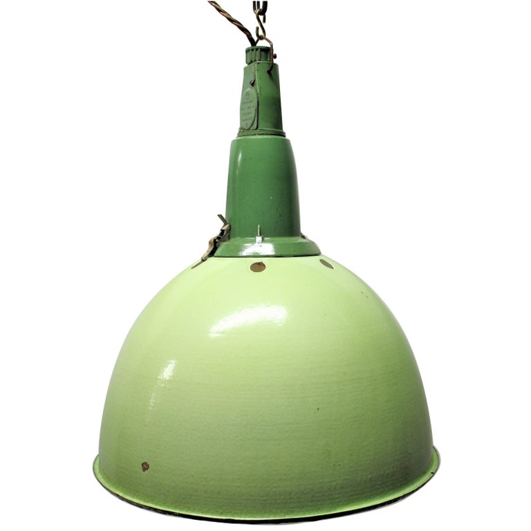 Vintage Industrial Pendant Lights, 1960s