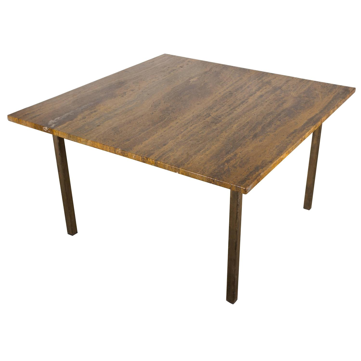 Modern square coffee table for sale at 1stdibs for Modern coffee table sale