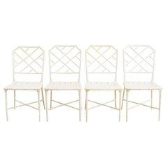 Brown Jordan Calcutta Faux Bamboo Garden Chairs