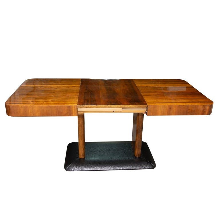 Art Deco Adjustable Dining Table by Jindřich Halabala, 1930s