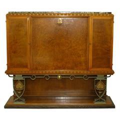 Secretary or Bookcase by Charles Van Beerleire