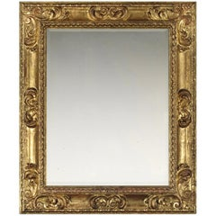 Exceptional 17th Century Carved Spanish Baroque Frame, with Choice of Mirror