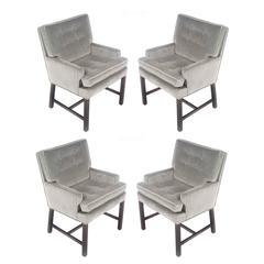 Set of Four Harvey Probber for Directional Armchairs