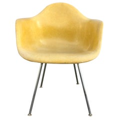 Herman Miller Eames DAX Armchair in Brilliant Yellow