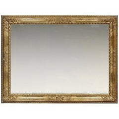 Mid-18th Century Carved Late Baroque Italian Frame, with Choice of Mirror