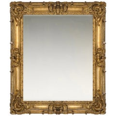 18th Century French Provençal Louis XV Rococo Frame, with Choice of Mirror