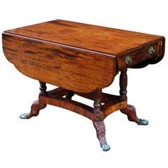 Early 19th Century American Federal New York Mahogany Drop Leaf Table
