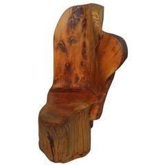 Rare Studio Californian Cypress Lounge Chair by J. B. Blunk, 1965